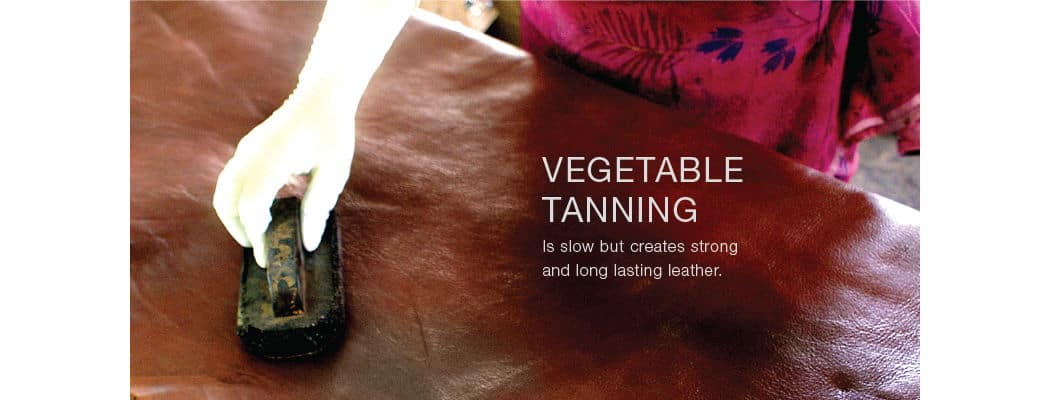 vegetable tanning