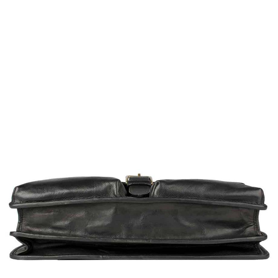 underside of aberdeen black bag