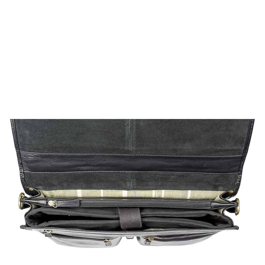 inside of aberdeen black bag