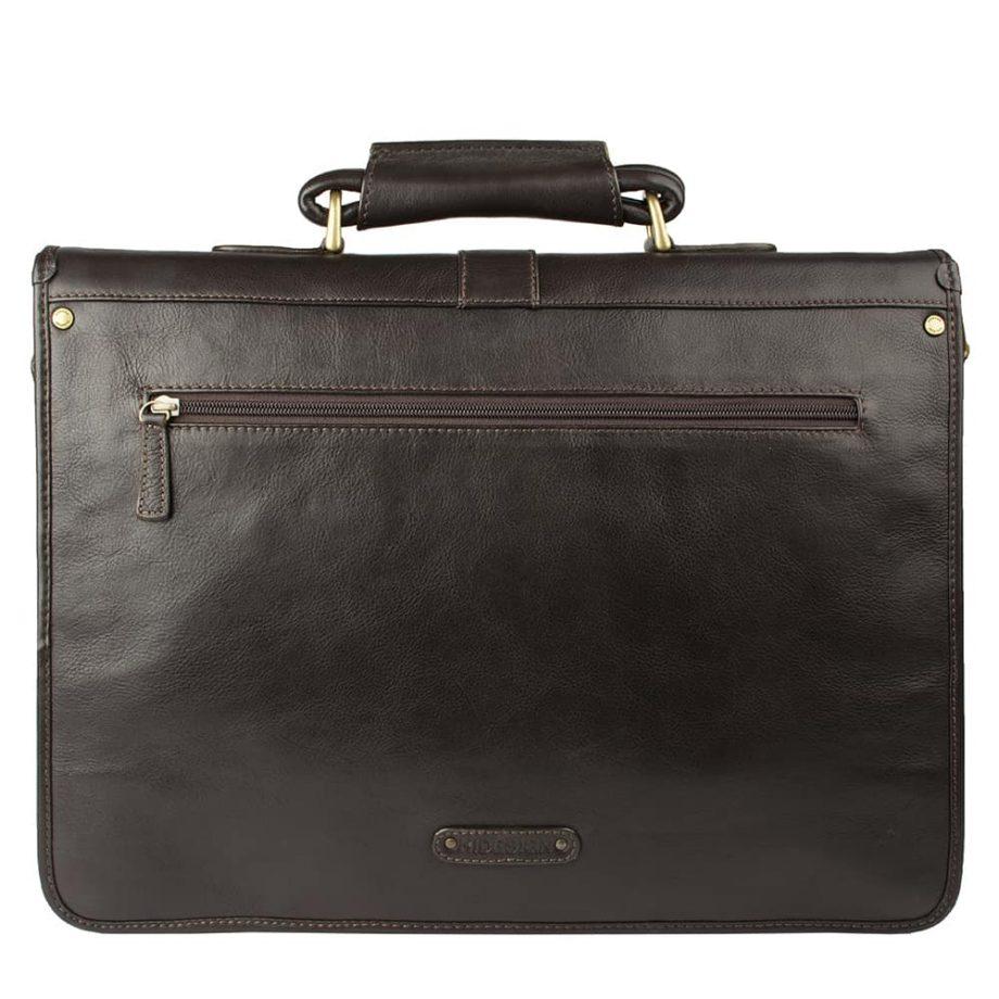 back of castello brown bag