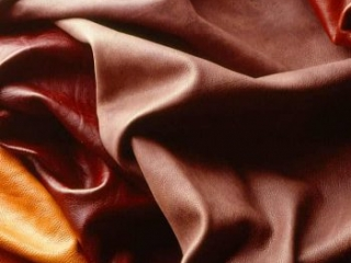 dark red orange burgundy leather models