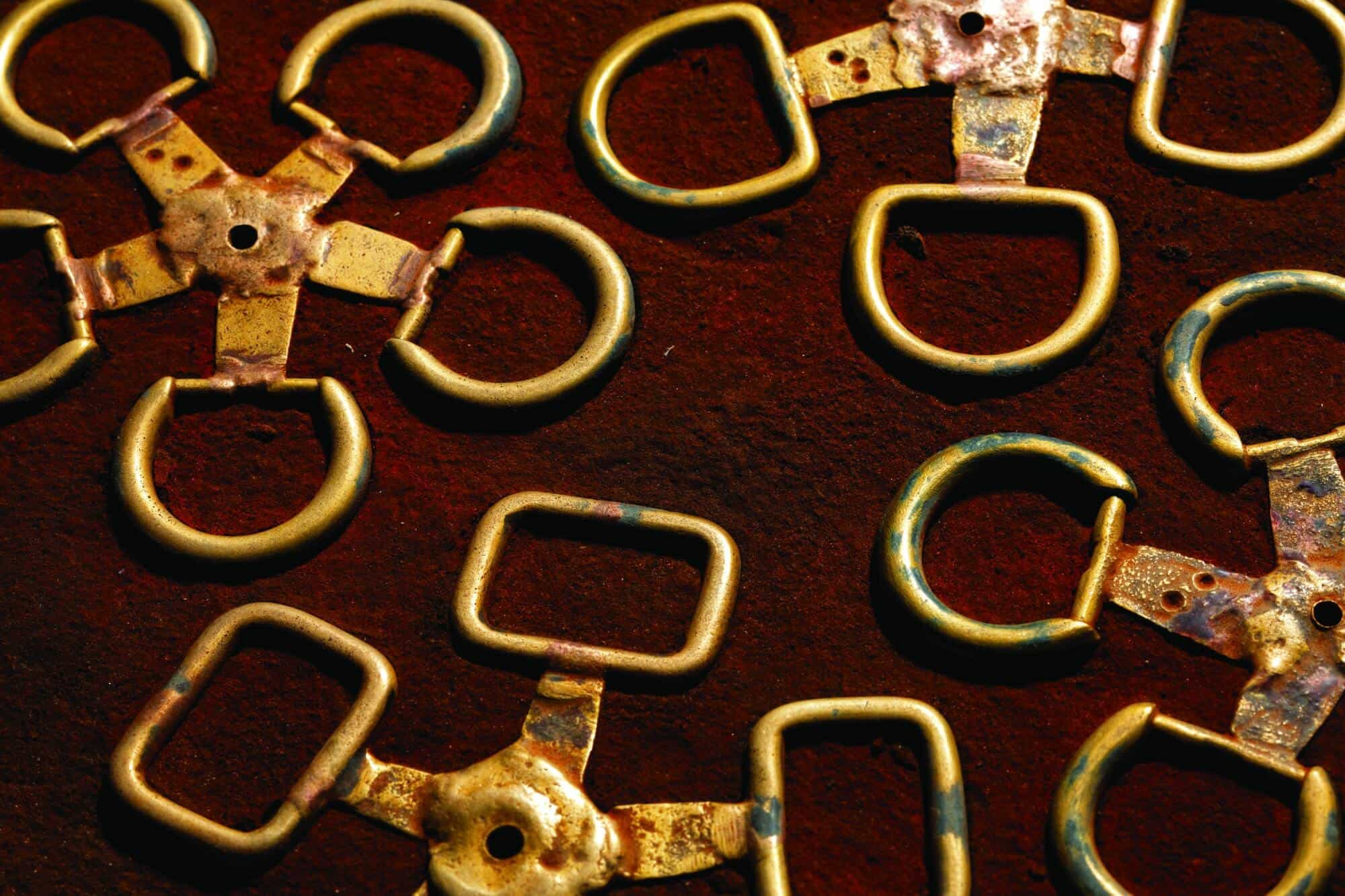 brass bag buckle models