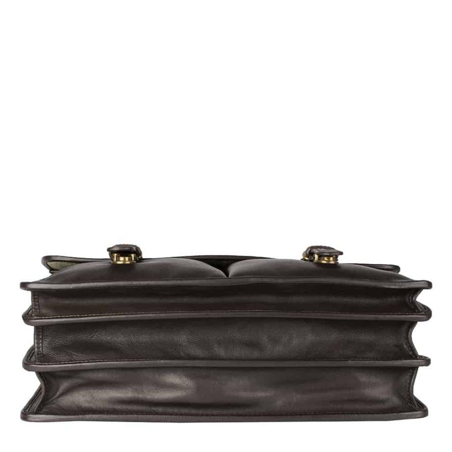 underside of hugo brown bag