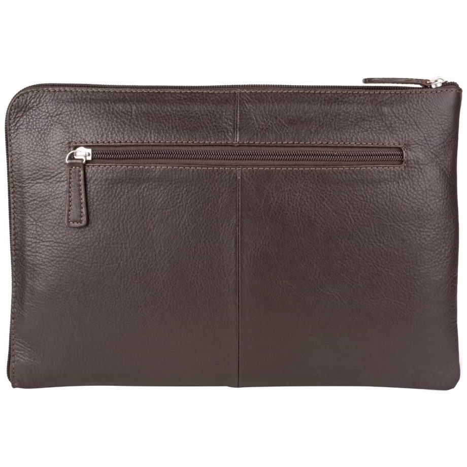 Eastwood classic brown leather tablet folio back picture