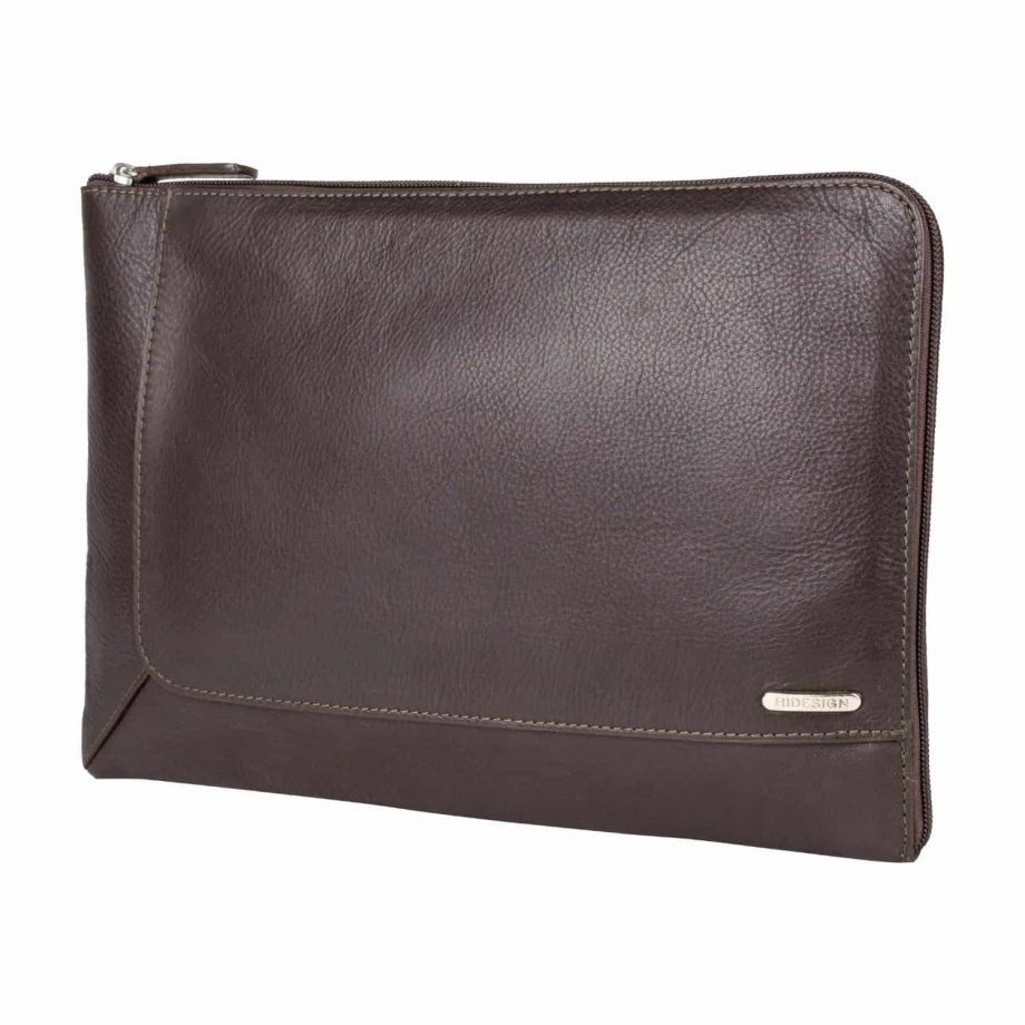 Front picture Eastwood Soft veg tanned leather A4 laptop folio