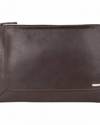 Eastwood Soft veg tanned leather A4 laptop folio, front picture