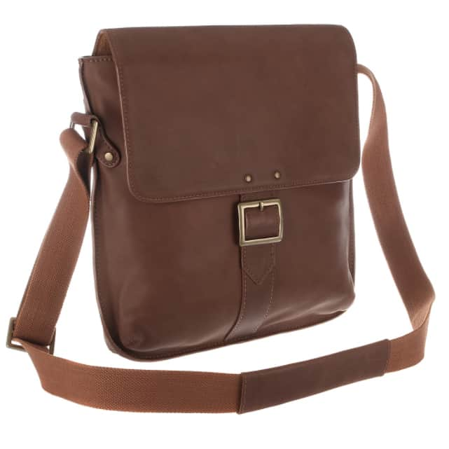 vespucci tan city bag made from vegetable tanned leather